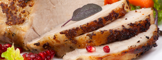Sage Mustard Roast Tenderloin Pork